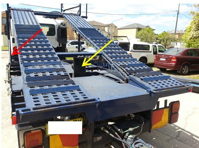 Car-carrying Truck Ramps