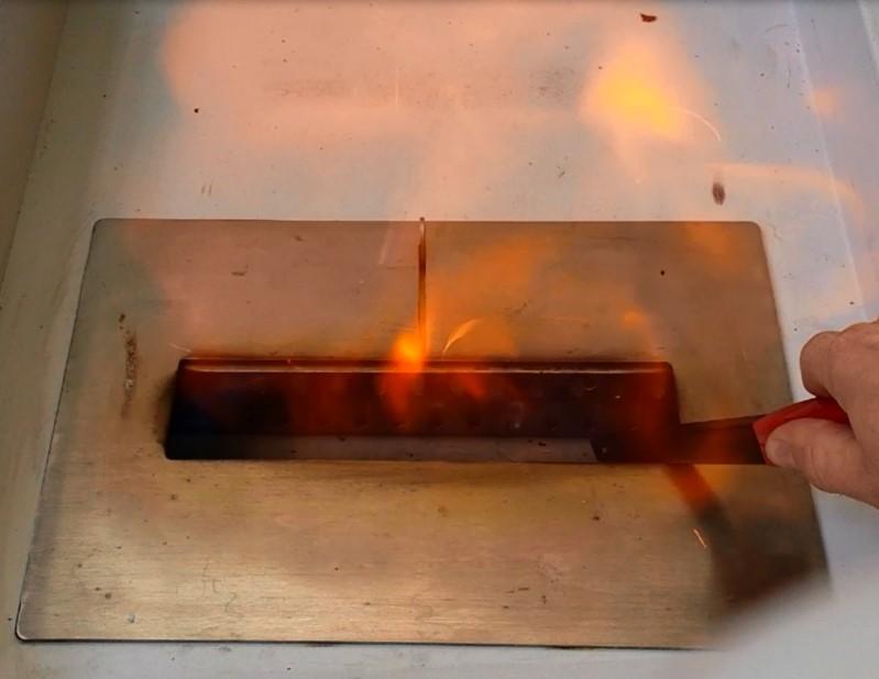 Ethanol-fuelled Decorative Fireplace