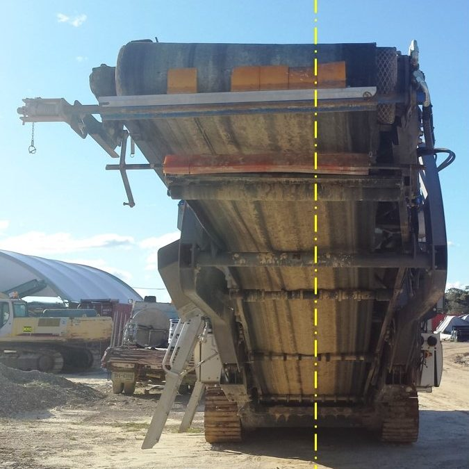 Earthmoving Equipment Collision