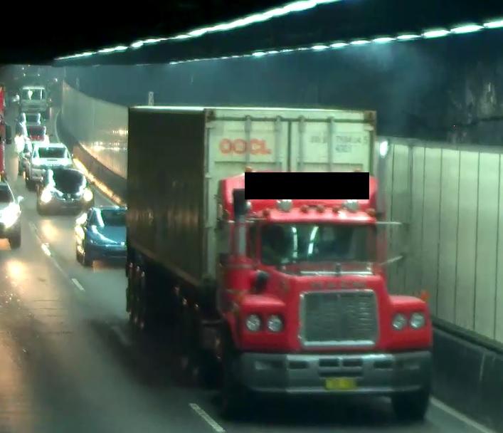 Truck Smoke Emission