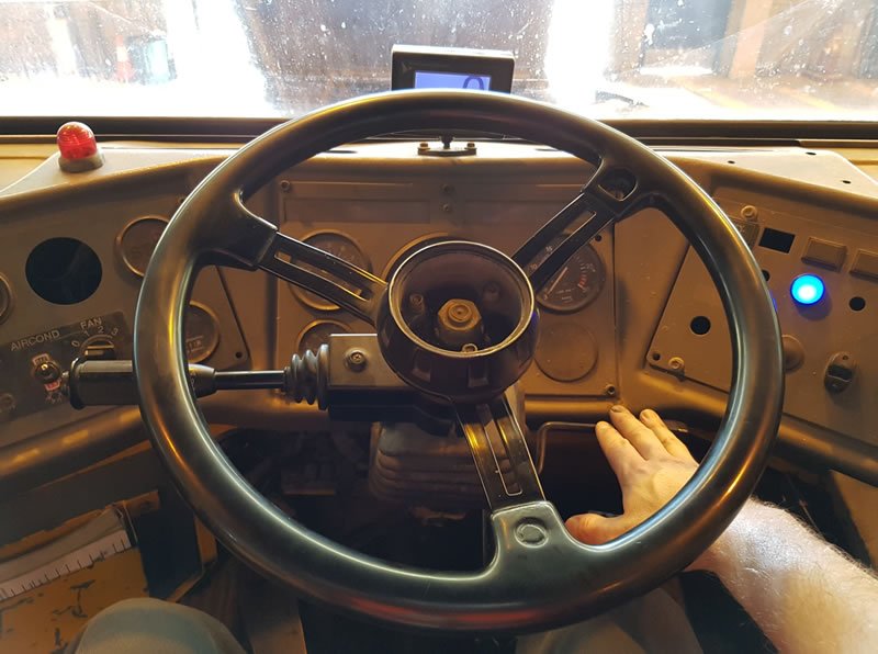 Ergonomics of the cabin of a vehicle