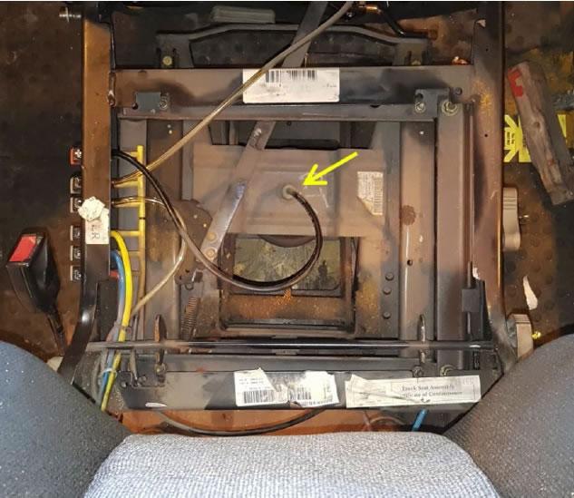 Air suspension seat