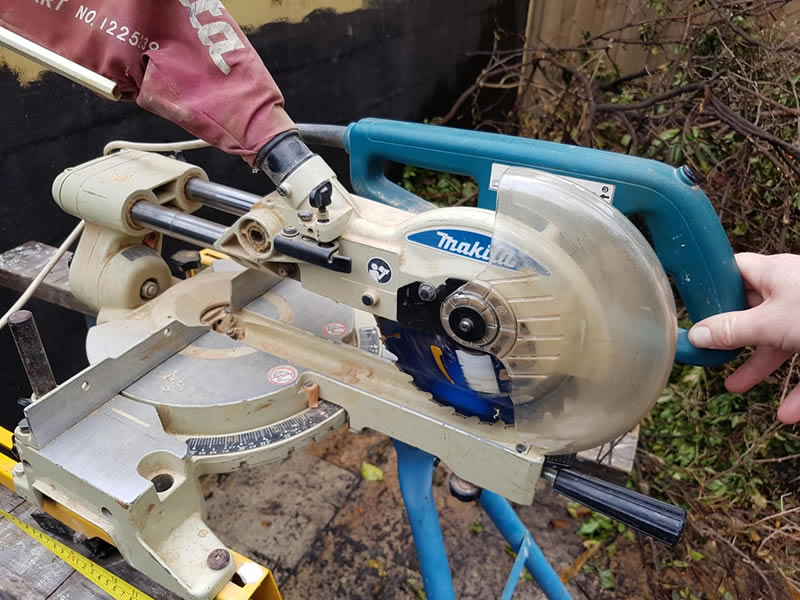 Assessment of a Builder's Drop Saw