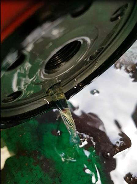 Truck engine filter