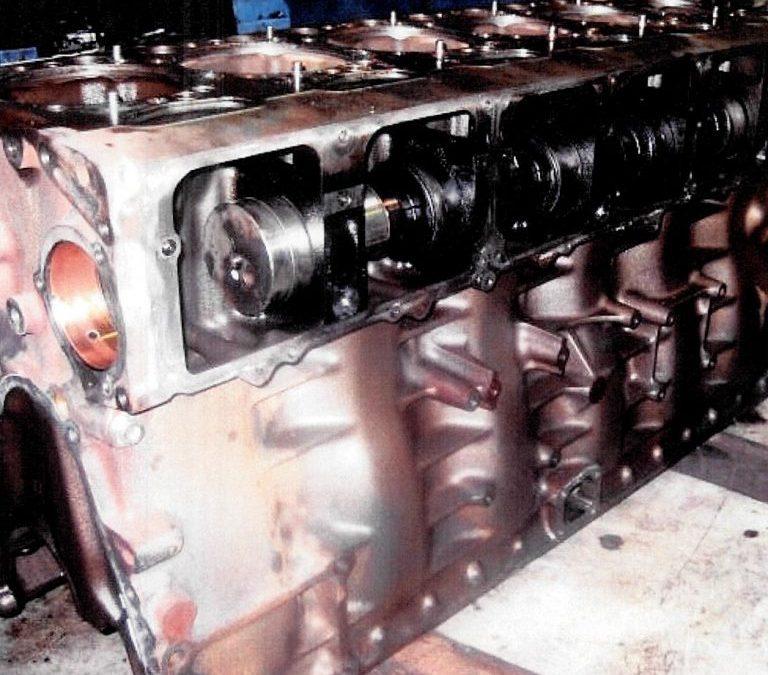 Engine Sump Schrapnel