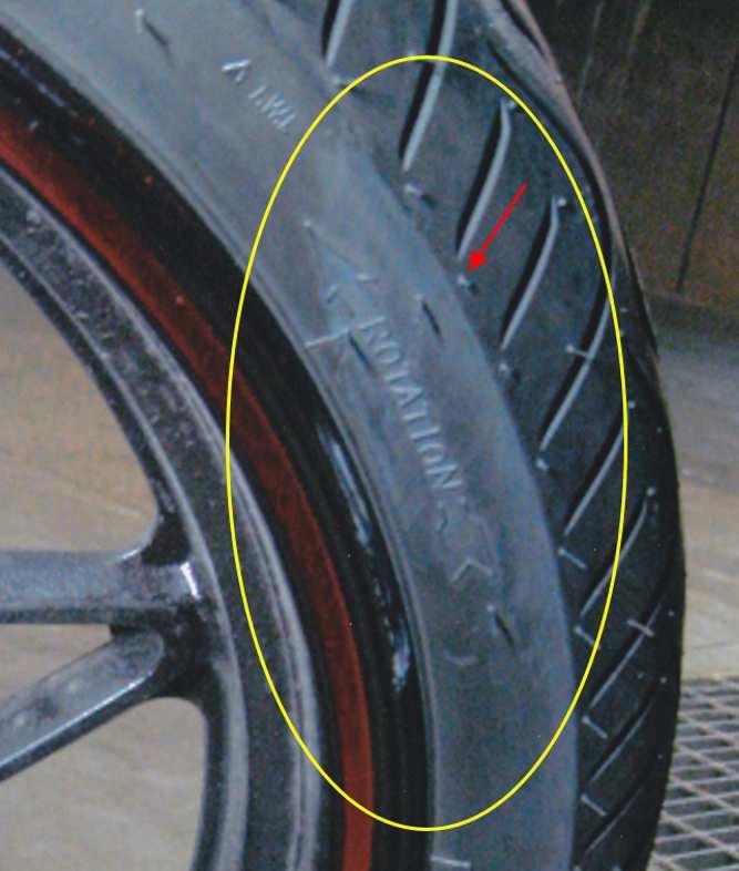 Motorbike Loss of Control